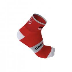 Castelli ponožky ROSSO CORSA 6